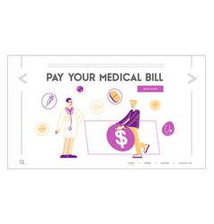 Medicine price and health care service cost vector
