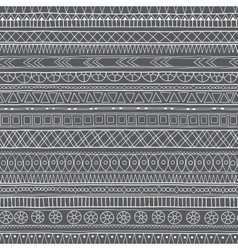 Original tribal doddle ethnic pattern vector image