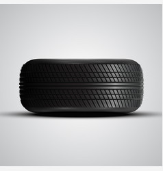 realistic tires vector image