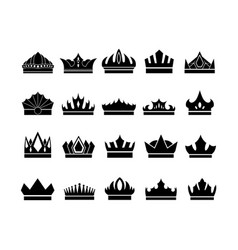 sign symbol icon crown vector image