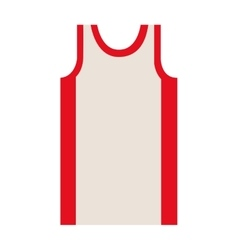 Silhouette colorful of basketball t-shirt vector