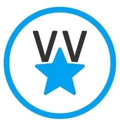 Victory Star Icon vector