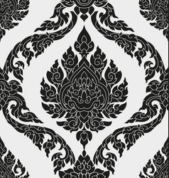 thai pattern design vector image vector image