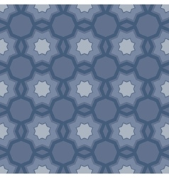 Art abstract geometric seamless pattern vector image