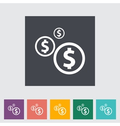 Coins 2 vector image