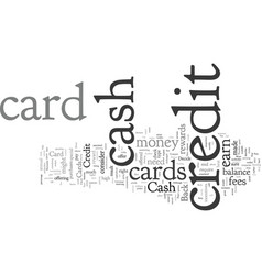 Compare cash back credit cards before you decide vector