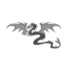 Dragon and monster logo vector