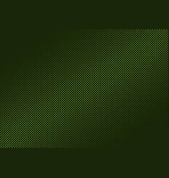 Green metallic dotted background vector