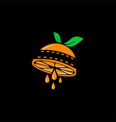 Orange film logo vector