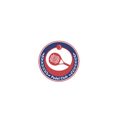 padel-club-logo vector image