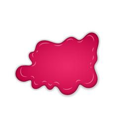 raspberry jam sweet raspberries splash isolated vector image