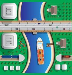 transportation vector image