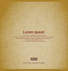 background design texture of the old paper brown vector image
