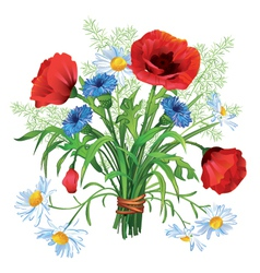flower bouquet vector image