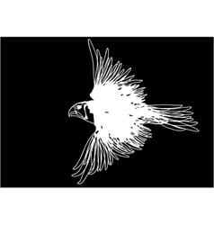 white bird vector image vector image