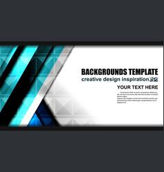 modern geometric background design vector image vector image