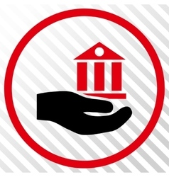 Bank Service Icon vector image