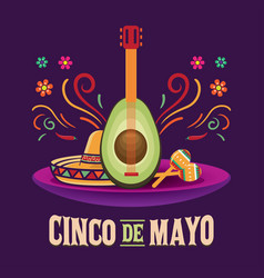 cinco de mayo may 5 vector image