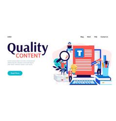 Concept copywriter business vector
