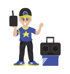 hipboy vector image