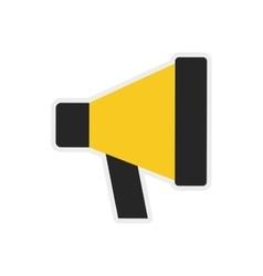 Megaphone icon Communication design vector image