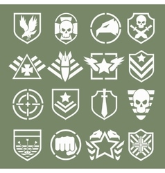Military logos of special forces vector