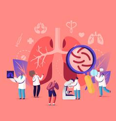 Respiratory medicine pulmonology healthcare vector
