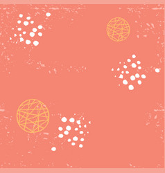 seamless abstract pattern living coral vector image
