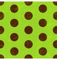 Seamless grungy green pattern vector