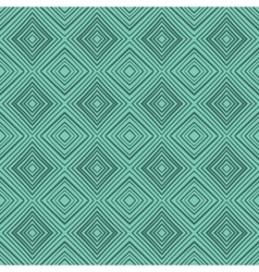 Seamless hand drawn green zenart pattern vector