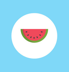 watermelon icon sign symbol vector image