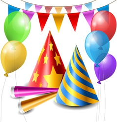 Party item set vector image vector image