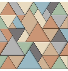 Retro origami background vector image