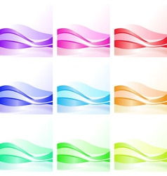wave background design vector image vector image