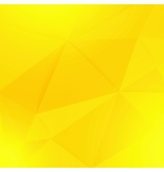 Abstract yellow geometric paper background vector image vector image