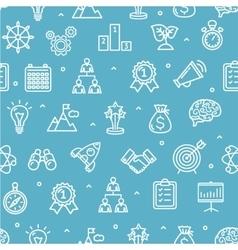 Start Up Motivation Brainstorming Background vector image vector image