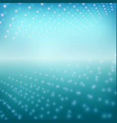 new style of blue gradient with light picture vector image vector image