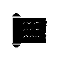 papyrus scroll isolated vector image