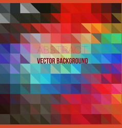 abstract irregular polygon background with vector image
