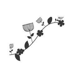 Flower garden decoration floral icon vector