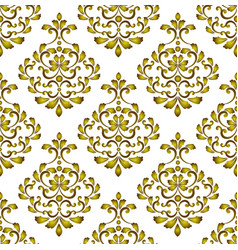 gold decorative background vector image