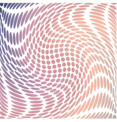 halftone pattern background in calming colors vector image