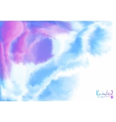 Purple and blue background in watercolor style vector