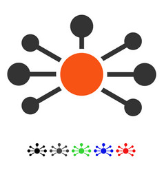 Relations flat icon vector