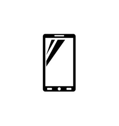 smartphone mobile phone icon vector image