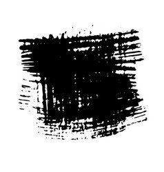 abstract background ink brush stroke with rough vector image