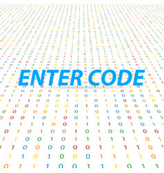 Enter the code for the global digital network vector