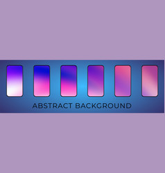 hologram ui screen backdrop vector image
