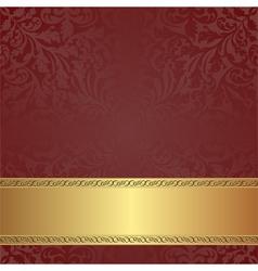maroon background vector image vector image
