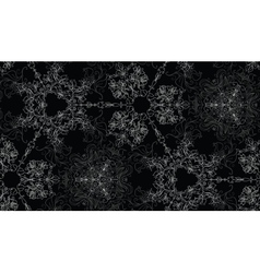 Abstract lacy seamless background vector image vector image